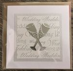 Wedding script with Champagne flutes